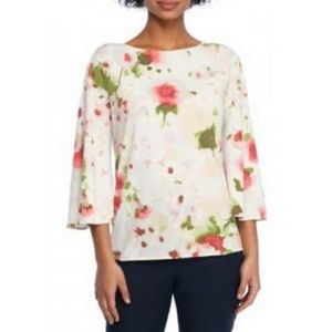 THE LIMITED plus size M poppy dream women's blouse